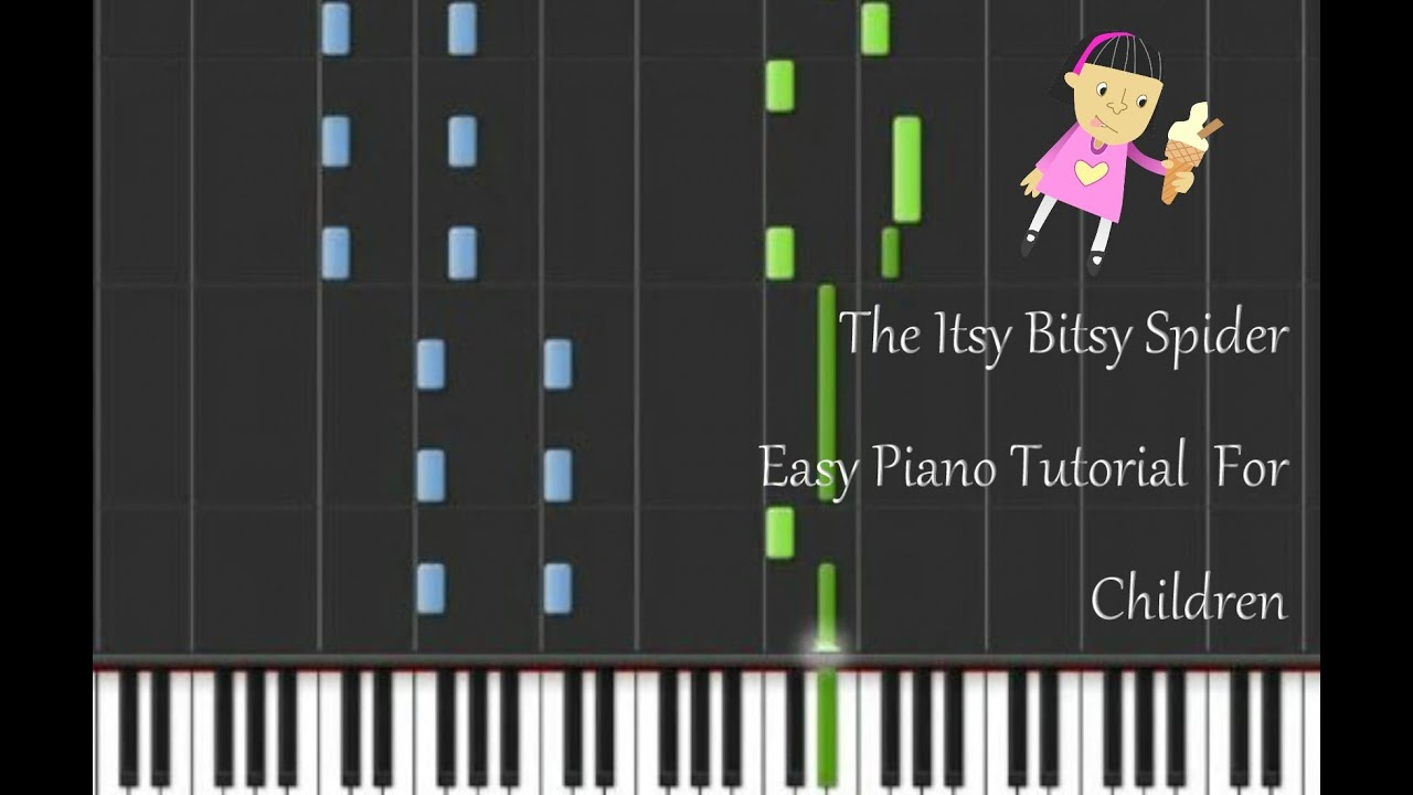 the itsy bitsy spider piano