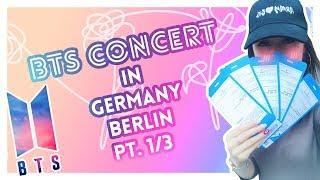 Концерт BTS в Берлине. МЫ В ГРИМЕРКЕ У BTS? ∑(O_O;) [1/3]