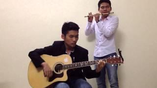 guitar + sao truc (cover hoa tam)