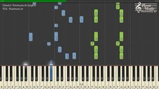 BTS (방탄소년단) - FAKE LOVE Piano Tutorial 피아노 배우기