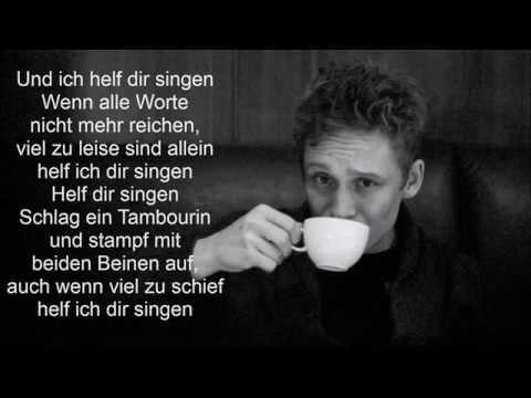 Matthias Schweighöfer  Fliegen mit Text
