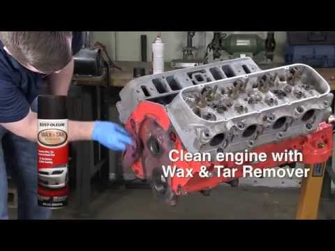 How To Video: How to Paint your Engine