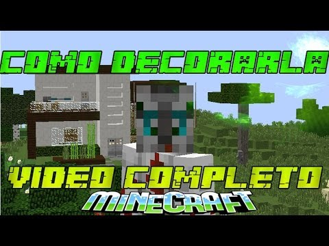 Como decorar tu casa en minecraft casa numero 5 youtube for Como decorar tu casa