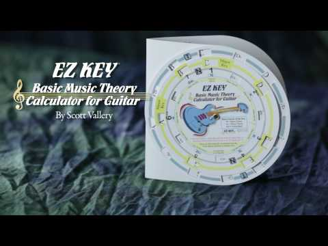 EZ KEY® Basic Music Theory Calculator for Guitar
