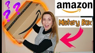 UNBOXING AMAZON MISTERY BOX/AMAZON BASICS CAMERA SMARTPHONE TRIPOD-MY REVIEW