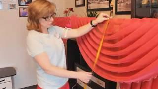 Пошив ламбрекена (Один день из жизни мастера)