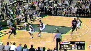 1999 Duke vs  Cincinnati