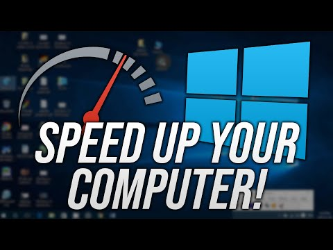 How To Make Your Computer Faster And Speed Up Your Windows 10 PC in 2020!