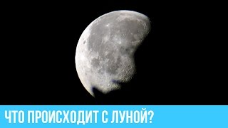 видео: Луна в любительский телескоп. Что происходит с луной?