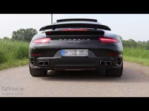 Porsche 911 Turbo // 991 Acceleration and Sound
