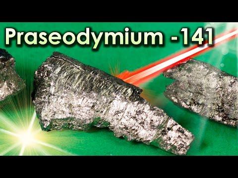 Praseodymium - A Metal that SLOWS The SPEED OF LIGHT!