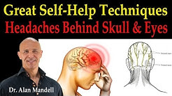Headaches Behind the Skull and Eyes (Great Self-Help Techniques) - Dr Mandell