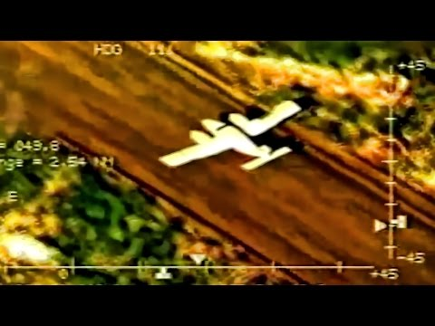 CBP P-3 Orion Catches Drug Smugglers In The Act