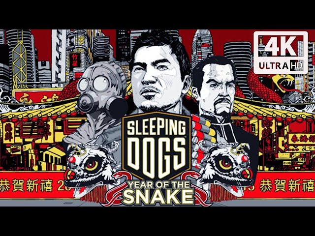 Sleeping Dogs Definitive Edition Year of The Snake All Cutscenes Story (Game Movie) @ 4K 60FPS