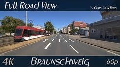 Braunschweig, Germany: Wabe-Schunter-Beberbach - Berliner Straße - 4K (UHD/2160p/60p) Video
