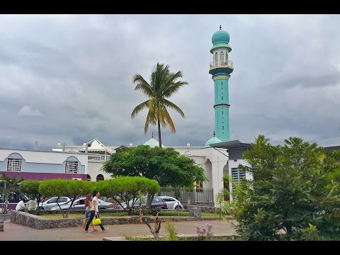 Friday Prayer at the Saint Louis Mosque in Reunion Island