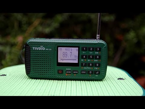 Tivdio HR-11S Emergency Radio for Survival and Bug out Bags