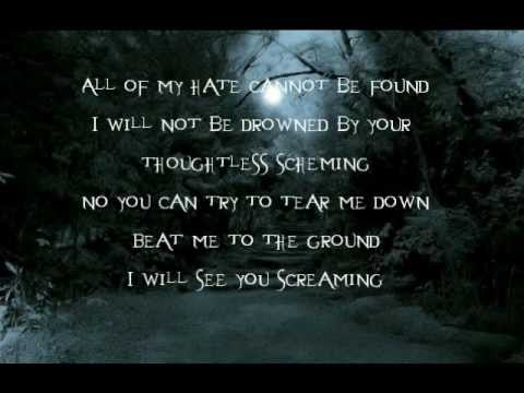Evanescence- Thoughtless lyrics (Originally by Korn)