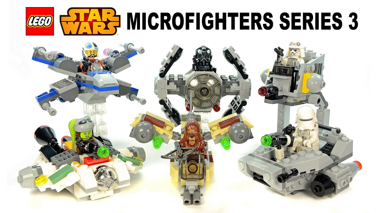LEGO Star Wars Microfighters Series 3 w/ X-Wing First ...