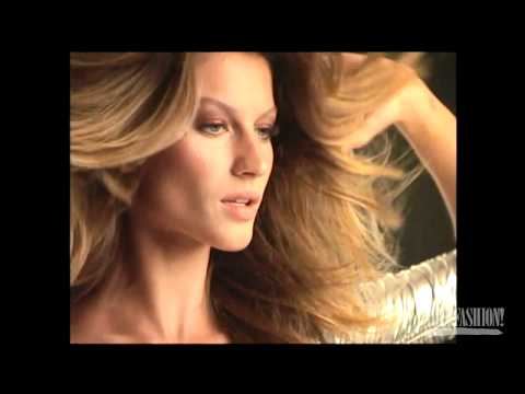 On Set with Gisele - From the Videofashion Vault