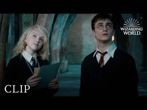 Luna's Lost Possessions | Harry Potter and the Order of the Phoenix