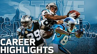 Steve Smith's ICE COLD Career Highlights! | NFL Legends