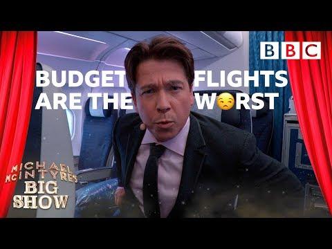 Why Michael McIntyre HATES flying 😡 ✈️ - BBC