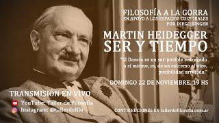 Heidegger. Ser y tiempo