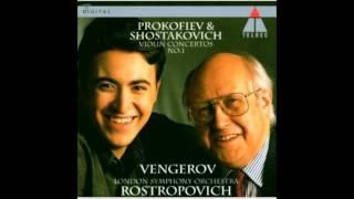 Shostakovich Violin Concerto No.1 III. Passcaglia IV. Burleske