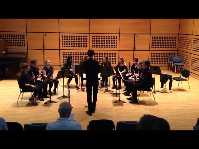 Blowsoc Clarinet Ensemble: Moondance
