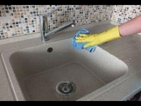 Вопрос: Как отмыть керамическую раковину без использования химических средств?