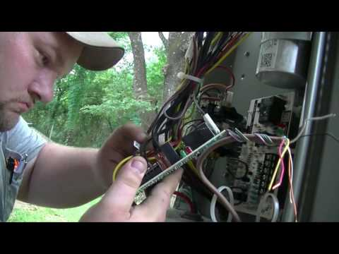 Hvac lennox blower relay defrost board replacement for Lennox furnace blower motor not working