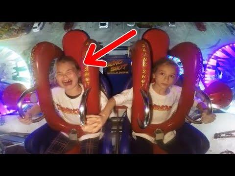 Kids Crying | Funny Slingshot Ride Compilation