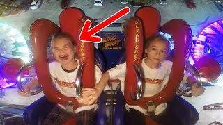 Kids Crying  Funny Slingshot Ride Compilation