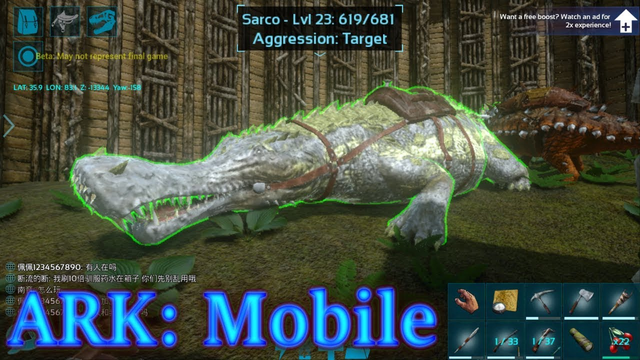 sarco tame surviving the swamp ark mobile episode 11 youtube