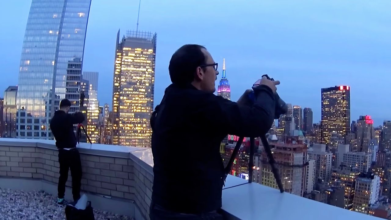 Rooftop Photography in New York YouTube