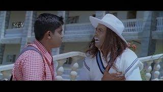 Student making fun on Sharan | Kannada Comedy Scenes | Josh Kannada Movie