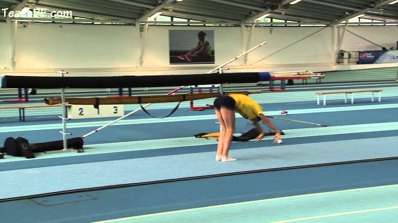 pole vault gymnastic exercises youtube