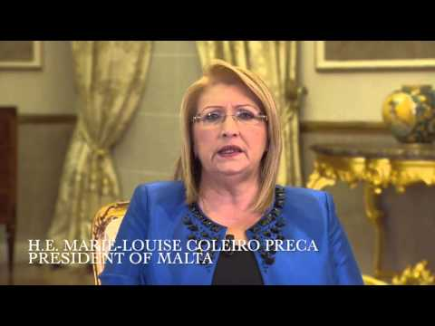 H.E. Ms. Marie-Louise Coleiro Preca, President of the Republic of Malta