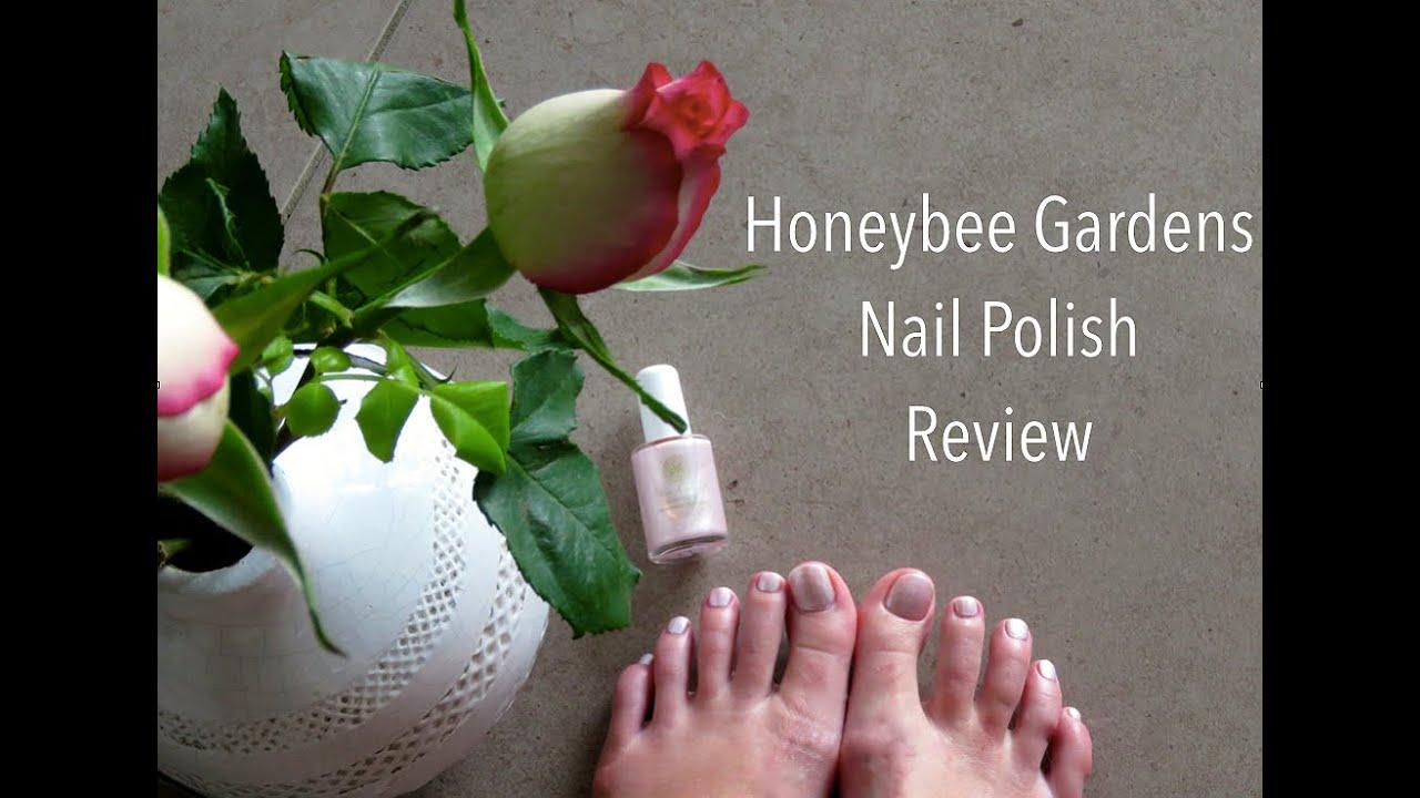 Honeybee Gardens Nail Polish Review Youtube