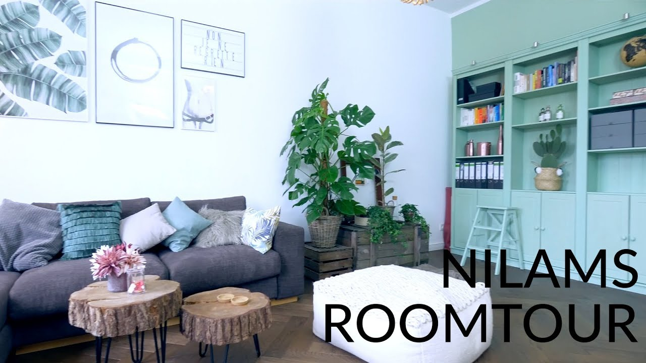 Weltpremiere! Nilams Roomtour! #4 Nilams Wohnzimmer