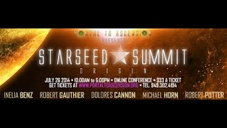 Dolores Cannon at Starseed Summit Online Conference