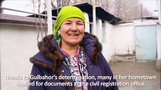 Gulbahor Majidova: Overcoming loss with a determination to help others in Tajikistan