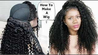 HOW TO MAKE A WIG FOR BEGINNERS FRIENDLY