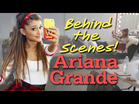 ARIANA GRANDE Behind The Scenes Cover Shoot
