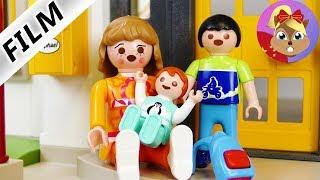 摩比游戏 Playmobil 玩偶影片 艾玛离家出走了?她真的生气了吗