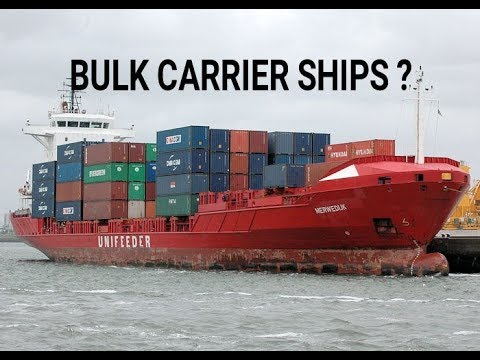 Marchant navy -ll What is bulk carrier ships ?