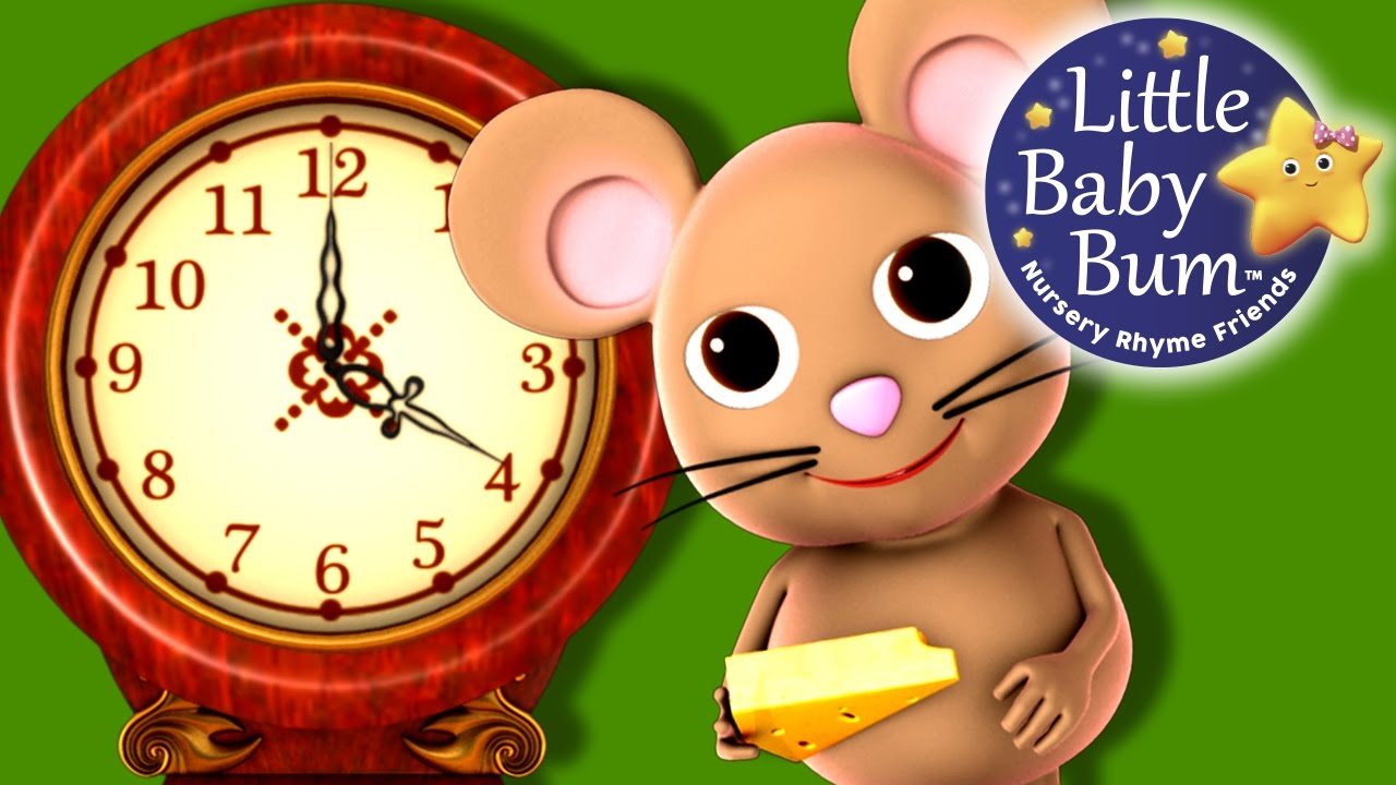 Hickory Ory Dock Little Baby Nursery Rhymes For Babies Videos Kids You