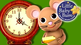 Hickory Dickory Dock | Nursery Rhymes | from LittleBabyBum!