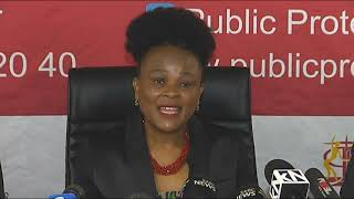 The Public Protector releases a report on President Cyril Ramaphosa